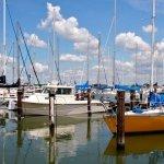 Boats At Marina