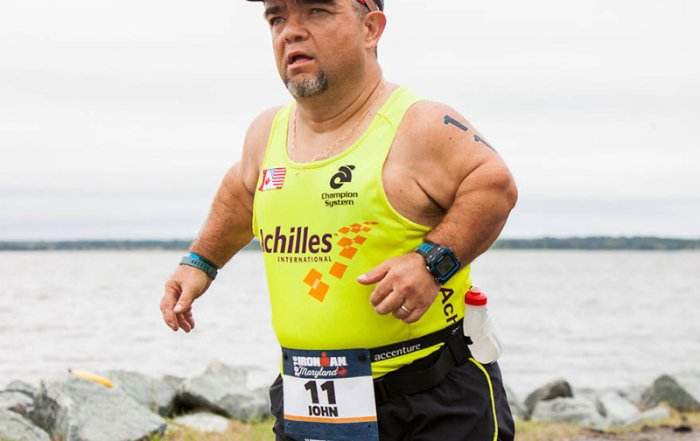 CNN story highlights IRONMAN Maryland