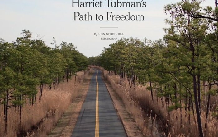 New York Times features Tubman Byway