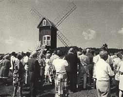 Spocott Windmill Dedication, 1972