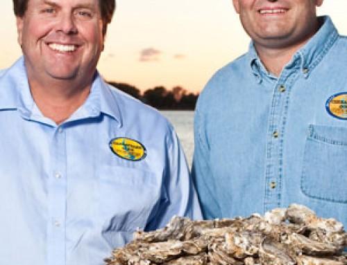 the oyster farmer