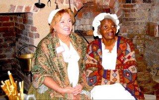 Midge Ingersoll (left) and Shirley Jackson - Handsell