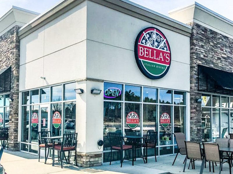 Bella's of Cambridge, Maryland - pizza and more