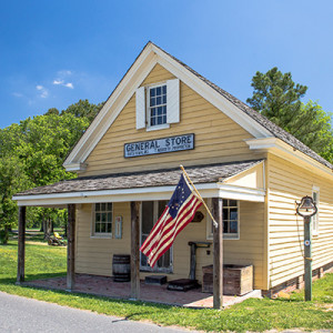 Bucktown General Store on the Harriet Tubman Byway in Dorchester County, Maryland