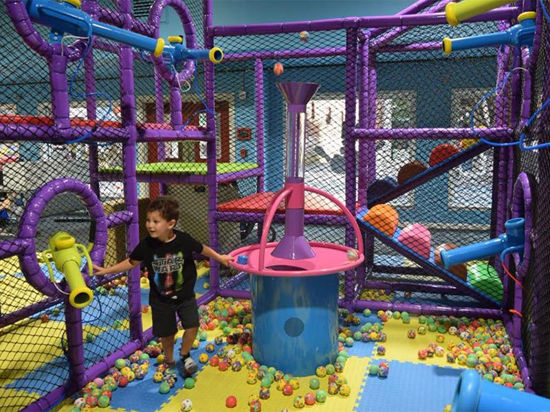 Cabin Fever Play Centre, indoor playground in Cambridge, MD