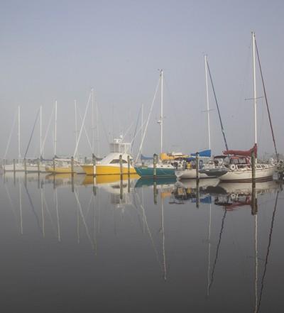 Cambridge Municipal Yacht Basin, a marina in Dorchester County, photo by Jill Jasuta