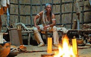 Chicone Village Day - Daniel Firehawk Abbott - Native American history in Dorchester County, MD