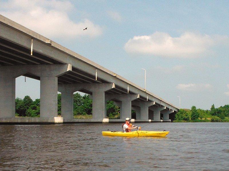 Kayaking on Maryland's Eastern Shore - Chicone Creek - Courtesy of Paddle the Nanticoke