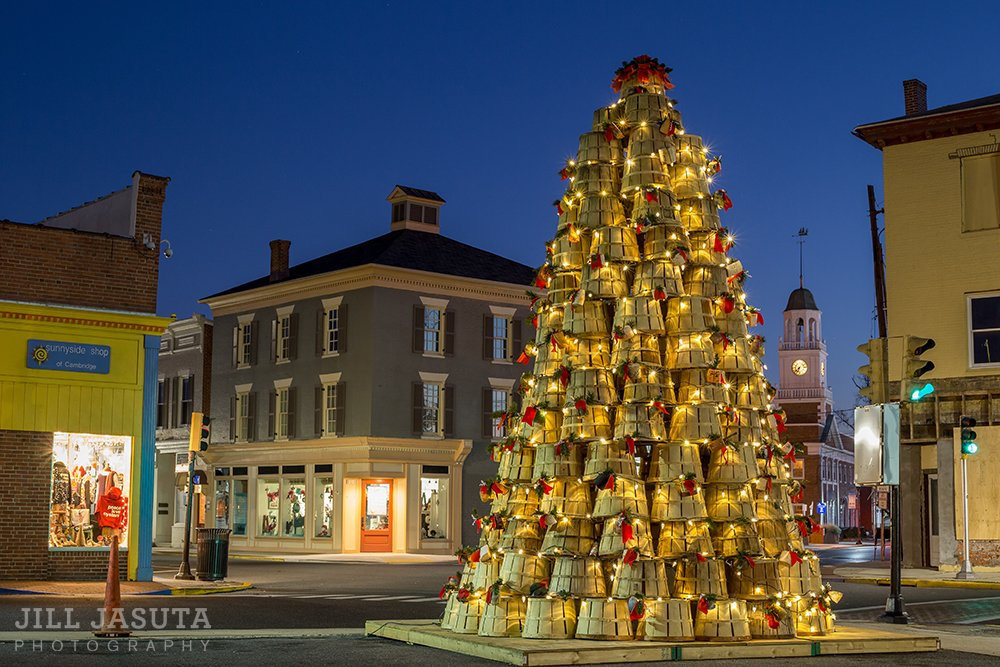 cambridge is one of top 12 christmas towns - Christmas Town Decorations