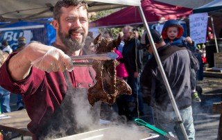 Crawfish Boil and Muskrat Stew Fest in Cambridge, Maryland
