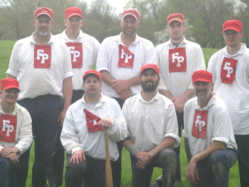Talbot Fair Plays Team, which plays according to 1864 rules