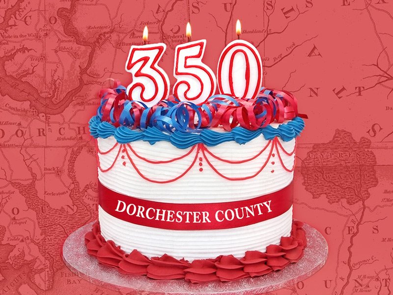 Dorchester County's 350th Anniversary in Maryland