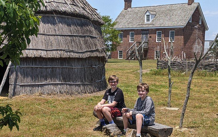 Handsell Historic Site in Dorchester County, Maryland