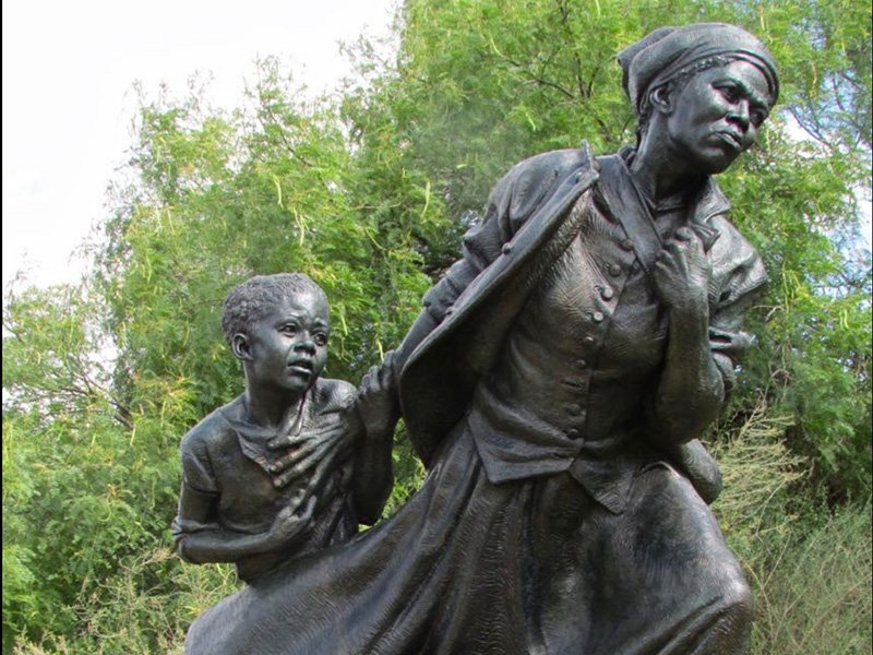 Harriet Tubman Sculpture by Wesley Wofford