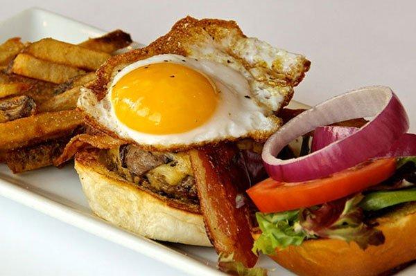 High Spot's Duck Fat Burger