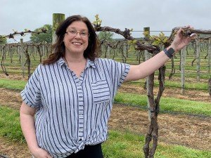 Jennifer Layton of Layton's Chance Vineyard & Winery