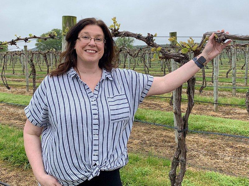 Jennifer Layton of Layton's Chance Vineyard & Winery