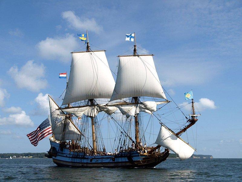 Tall ship Kalmar Nyckel_comes to Cambridge June 14-16, 2019