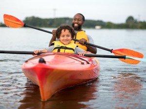 Kayaking in Dorchester County, Maryland; photo courtesy of Maryland Tourism