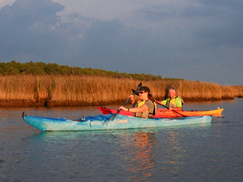 Paddling in Dorchester County on Maryland's Eastern Shore