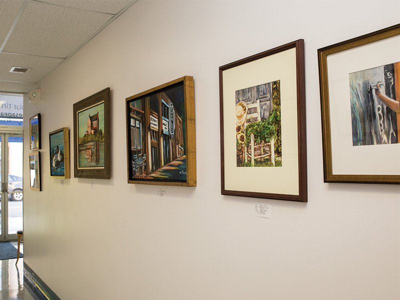 Leggett Gallery at Chesapeake College, Cambridge Center