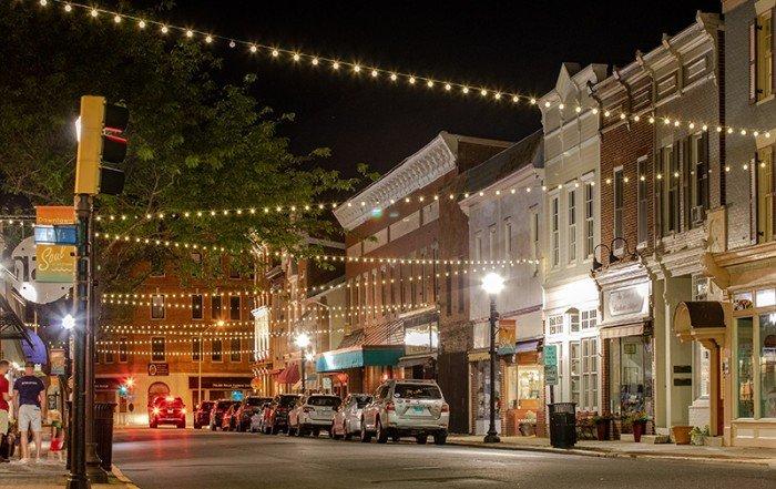 Downtown Cambridge, Maryland - Photo by Jill Jasuta