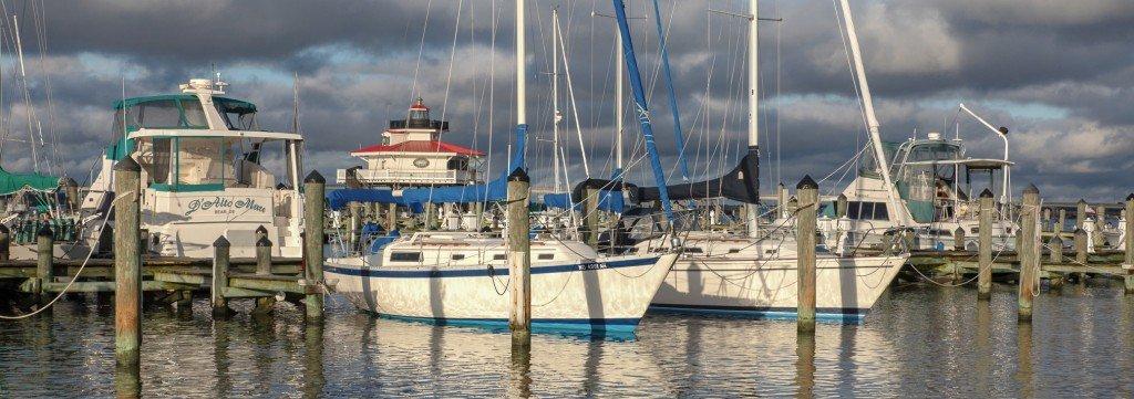 Cambridge Yacht Basin on Maryland's Eastern Shore