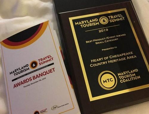 Audio Guide Wins Maryland Tourism Award