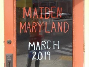 Maiden Maryland, downtown Cambridge, Maryland