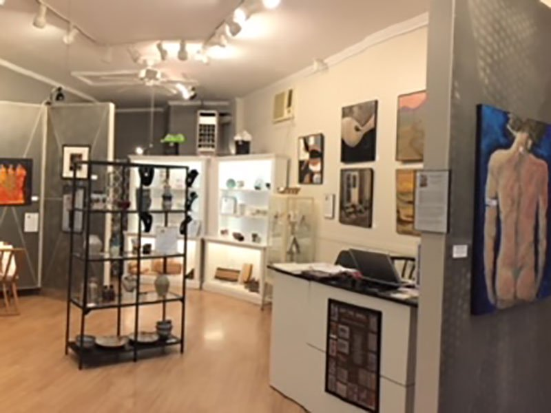 Main Street Gallery in Cambridge, Maryland