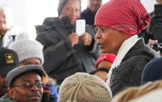 Millicent Sparks as Harriet Tubman