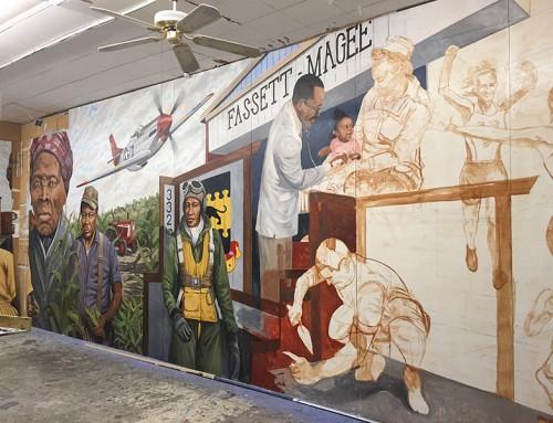 Dorchester dedicates newest mural July 21