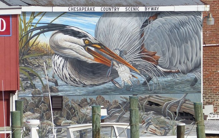 Chesapeake Country Mural in Cambridge