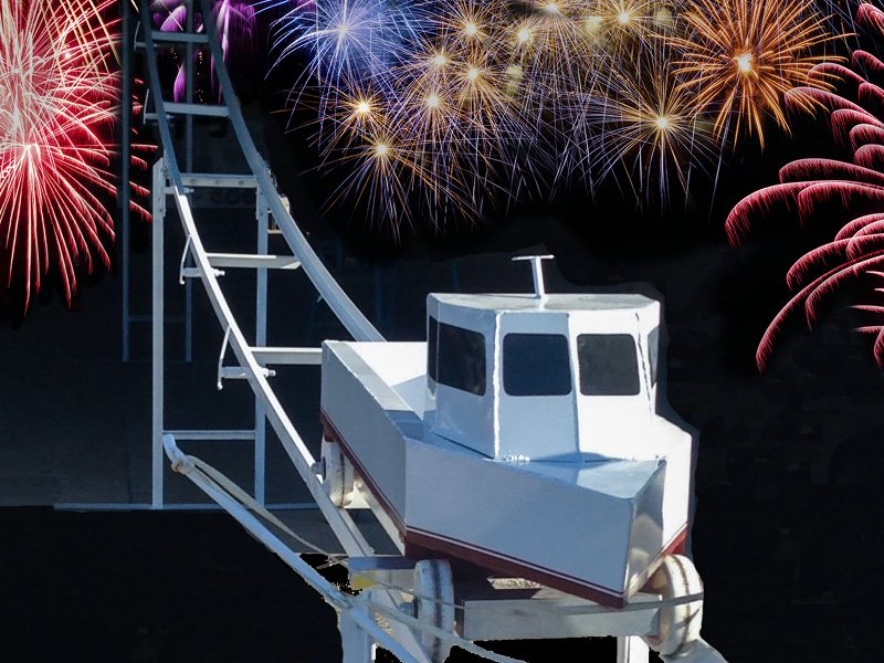 New Year's Eve Boat Drop, Cambridge, MD