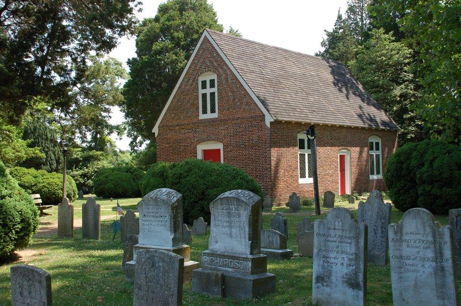 Old Trinity Church in Church Creek, MD