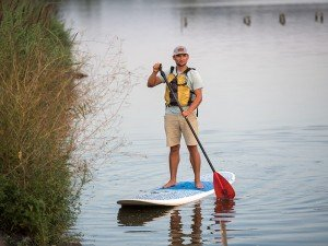 Stand-Up Paddleboarding with Blackwater Adventures - Photo courtesy Maryland Tourism