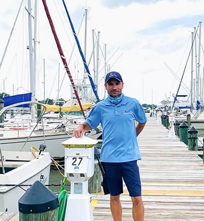 Scott Fitzhugh, Cambridge Municipal Yacht Basin, photo courtesy Dorchester County Economic Development