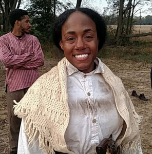 B. Cherie Patterson as Harriet Tubman