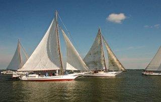 Choptank Heritage Skipjack Race, Cambridge, MD - a Chesapeake Bay tradition