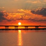 Sunrise Choptank Bridge
