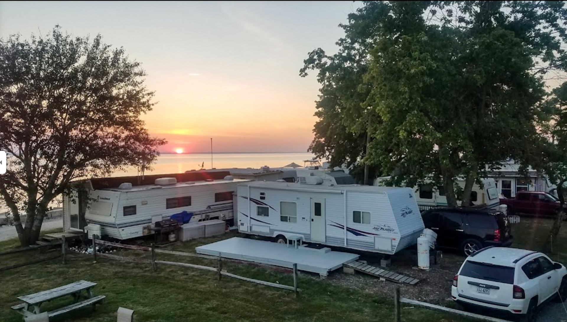 Taylors Island Family Campground in Dorchester County, MD - Photo by Sherry Mayne