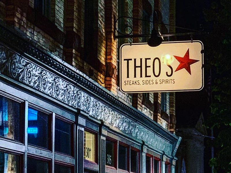 Theo's Steakhouse in Downtown Cambridge, MD