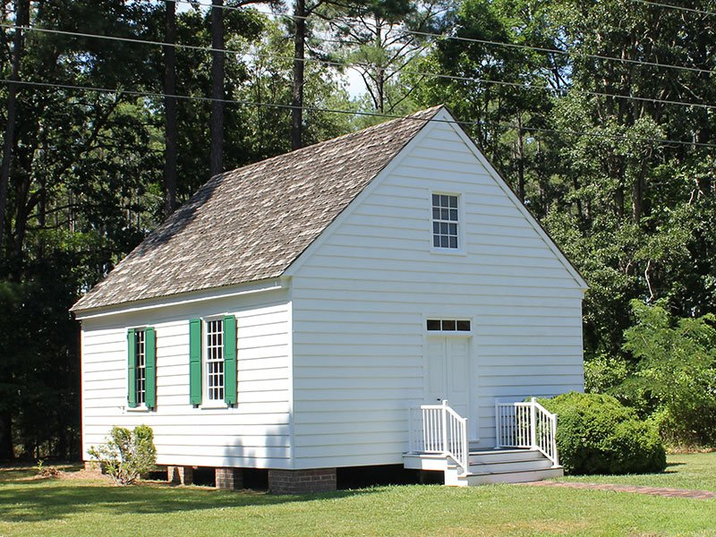 Tubman Chapel, 1767, at St. Mary Star of the Sea Catholic Church in Church Creek, MD