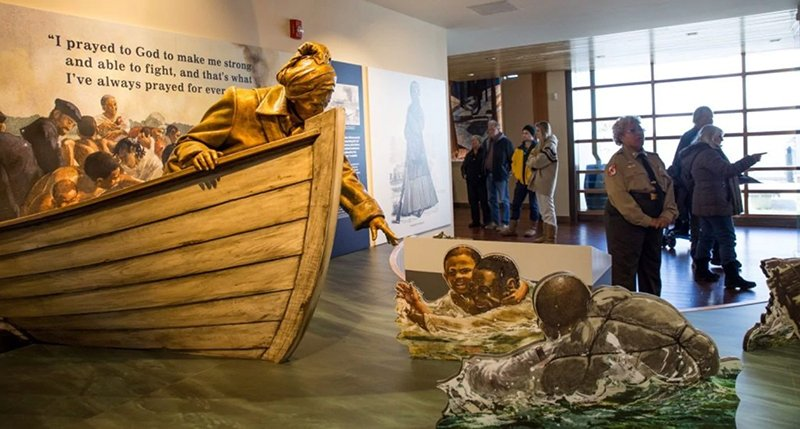 Harriet Tubman Underground Railroad Visitor Center in Dorchester County, MD