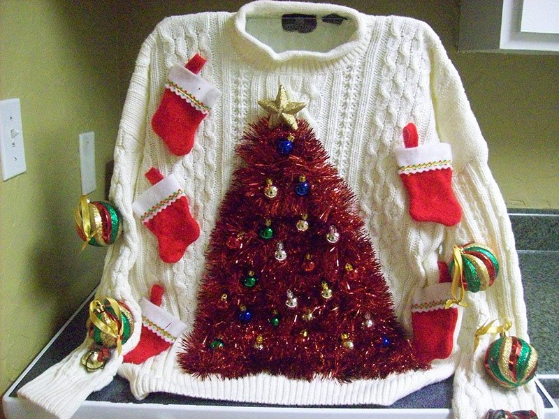 Ugly Sweater Party at Cabin Fever Play Centre in Cambridge, MD