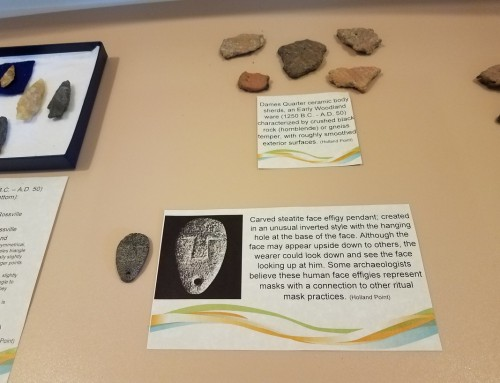 Dorchester Artifacts on Display