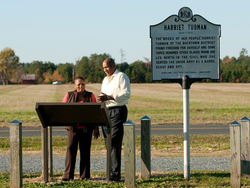 Harriet Tubman Underground Railroad Byway - Brodess Farm
