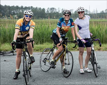 Wild Goose Chase Bicycle Tour for Women in Dorchester County, MD